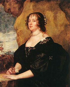 Anthony Van Dyck - Diana Cecil, comtesse d Oxford