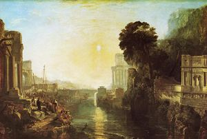 William Turner - Didon construisant Carthage (aussi connu comme The Rise de l empire carthaginois)