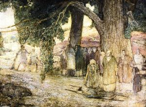 Henry Ossawa Tanner - Disciples la guérison des malades