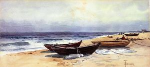 Alfred Thompson Bricher - Doris Along Shore