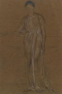 James Abbott Mcneill Whistler - Figure Drapé, permanent