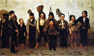 John George Brown - robe parade