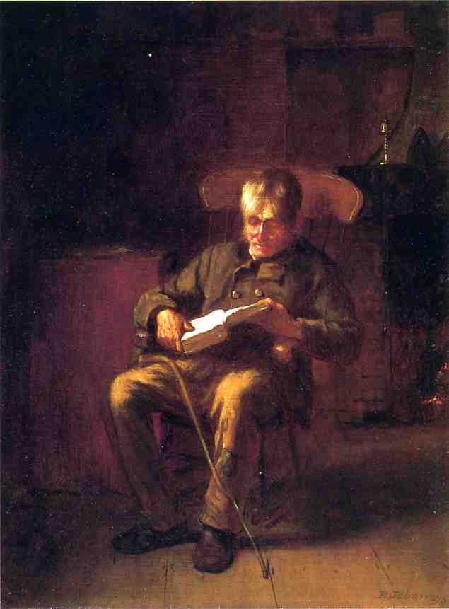 Déposer, 1873 de Jonathan Eastman Johnson (1824-1906, United Kingdom) | WahooArt.com