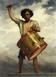William Morris Hunt - The Drummer Boy