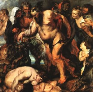 Peter Paul Rubens - Drunken Silenus