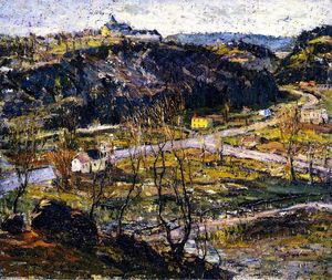 Ernest Lawson - Dunwoodie, Haute-New York