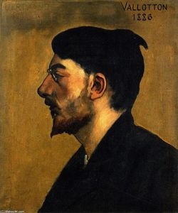 Felix Vallotton - Emile Bertrand