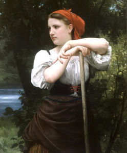 William Adolphe Bouguereau - Faneuse