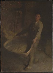George Clausen - Boy de The Farmer