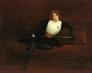 Jean Georges Béraud - Le Fencer