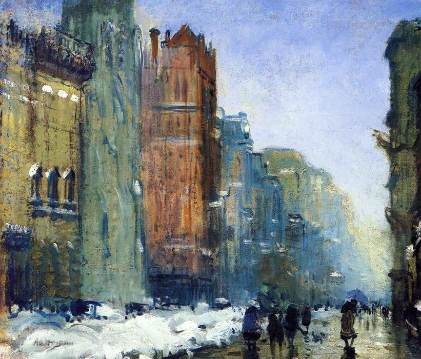 Fifth Avenue, New York de Arthur Clifton Goodwin (1864-1929, United States)