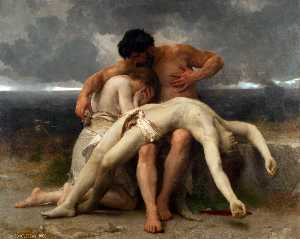 William Adolphe Bouguereau - Le premier deuil