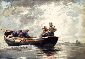 Winslow Homer - Fisher Folk dans Dory