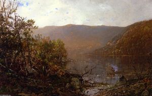 William Louis Sonntag - Pêche dans les Adirondacks