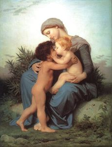 William Adolphe Bouguereau - Amour Fraternel