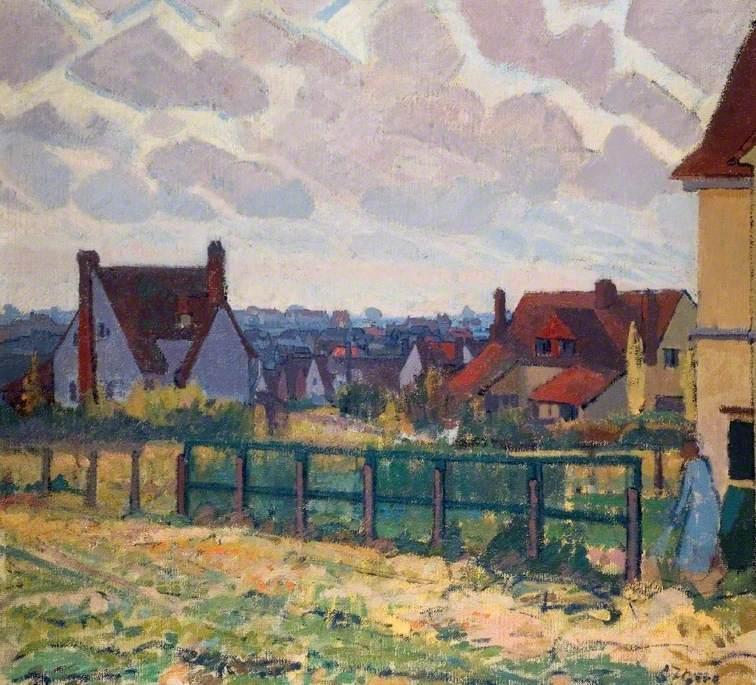 Letchworth United Kingdom  City new picture : ... huile sur toile de Spencer Frederick Gore 1878 1914, United Kingdom