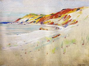 Arthur Wesley Dow - Gay Head, Vignoble de Martha