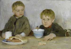 Henry Scott Tuke - Georgie et Richard