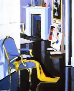 Francis Campbell Boileau Cadell - le or chaise