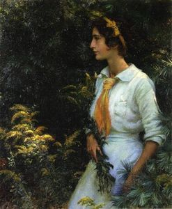 Charles Courtney Curran - Verge d or