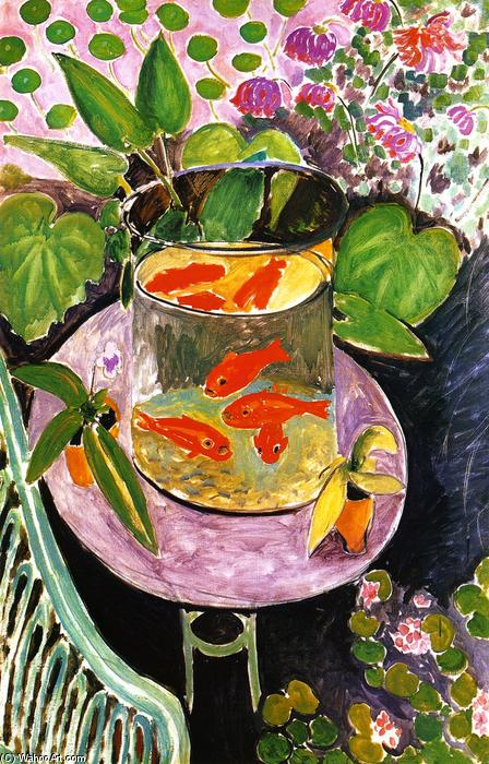 Poisson rouge huile sur toile de henri matisse 1869 1954 for Poisson rouge a acheter