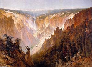 Thomas Hill - le grand canyon de l' `yellowstone