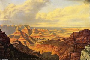Levi Wells Prentice - grand vue , grand canyon parc national , En arizona