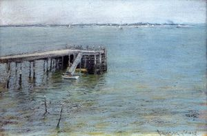 William Merritt Chase - Gravesend Bay (aussi connu comme la baie inférieure)
