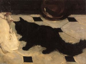 John Sloan - Cat Green