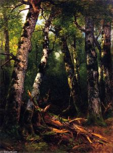 Asher Brown Durand - groupe d' arbres