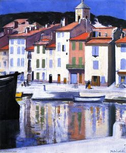 Francis Campbell Boileau Cadell - Le Harbour, Cassis