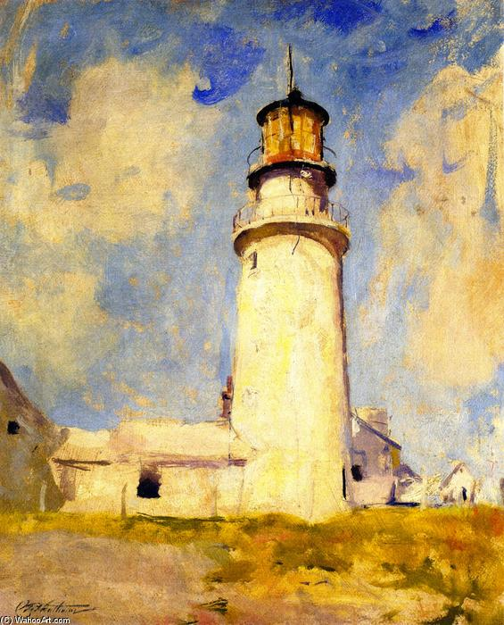 Highland Lighthouse, 1925 de Charles Webster Hawthorne (1872-1930, United States) | Reproductions D'art De Musée Charles Webster Hawthorne | WahooArt.com