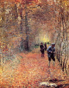 Claude Monet - Chasse ( aussi connu as le tournage )