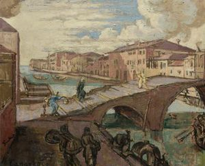 Walter Richard Sickert - Il Cannaregio, Venezia