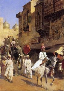 Edwin Lord Weeks - Cérémonie Prince et Parade indienne
