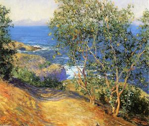 Guy Orlando Rose - Indian Trees tabac, La Jolla