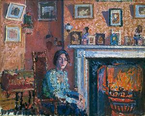 Spencer Frederick Gore - Intérieur Mornington Crescent