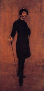 William Merritt Chase - James Abbott McNeil Whistler