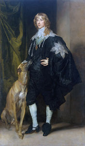Anthony Van Dyck - portrait de james stuart , duc de richmond et lenox