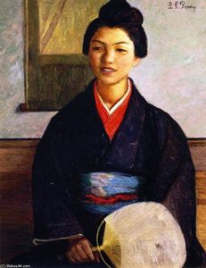 Lilla Cabot Perry - Japanese Girl