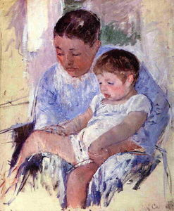 Mary Stevenson Cassatt - Jenny et son enfant Sleepy