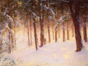 Walter Launt Palmer - Incrusté Pines