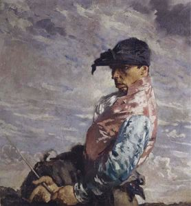 William Newenham Montague Orpen - Le Jockey