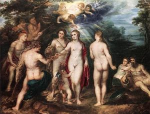 Peter Paul Rubens - le jugement de paris