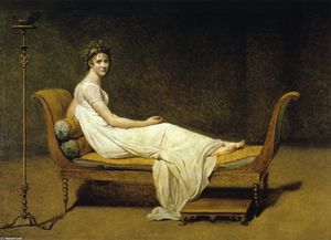 Jacques Louis David - Juliette Récamier