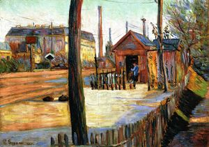 Paul Signac - The Junction à Bois-Columbes