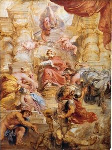 Peter Paul Rubens - roi james i des angleterre