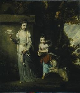 Joshua Reynolds - Le Ladies Amabel et Mary Jemima Yorke