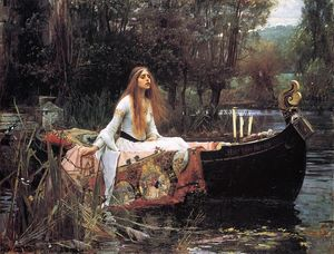 John William Waterhouse - La Dame de Shalott