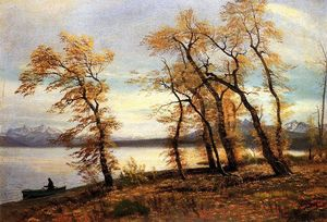 Albert Bierstadt - lac marie  Californie